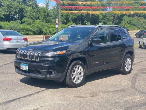 2015 Jeep Cherokee for sale at Tonka Auto & Truck in Mound MN