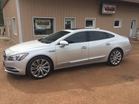 2017 Buick LaCrosse for sale at Palmer Welcome Auto in New Prague MN