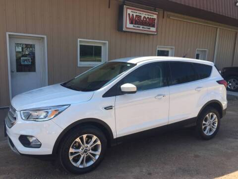 2019 Ford Escape for sale at Palmer Welcome Auto in New Prague MN