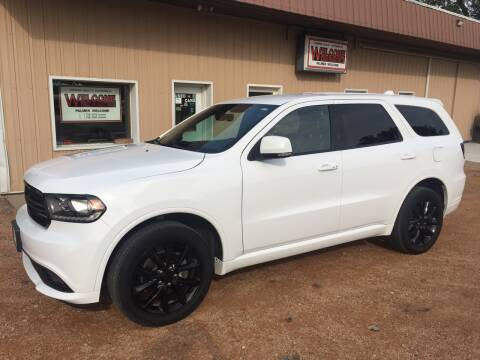 2017 Dodge Durango for sale at Palmer Welcome Auto in New Prague MN