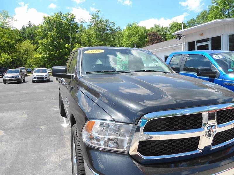 2016 RAM Ram Pickup 1500 4x4 SLT 4dr Quad Cab 6.3 ft. SB Pickup - Cresco PA