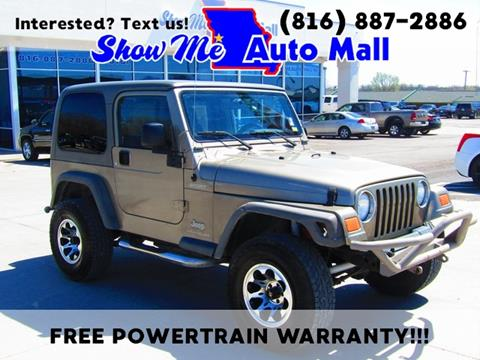 2005 Jeep Wrangler for sale in Harrisonville, MO