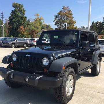 2008 Jeep Wrangler Unlimited for sale at RBT Automotive LLC in Perry OH