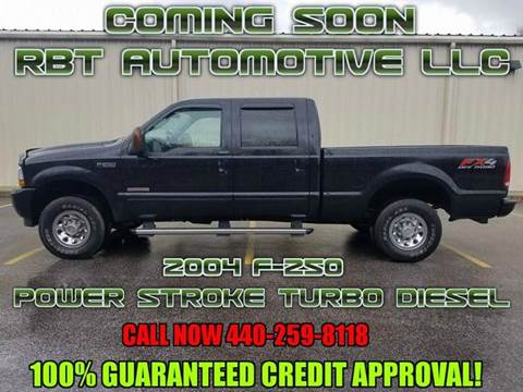2004 Ford F-250 Super Duty for sale at RBT Automotive LLC in Perry OH
