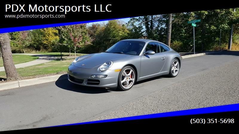 2005 Porsche 911 Carrera S In Milwaukie Or Pdx Motorsports Llc