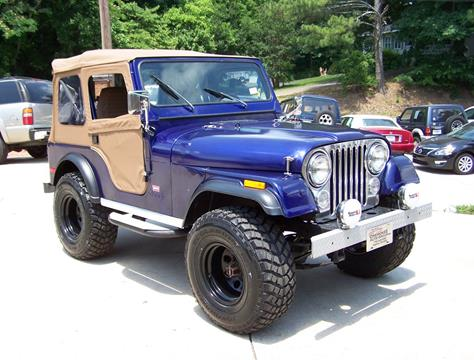 1980 Jeep CJ-5 for sale in Canton, GA