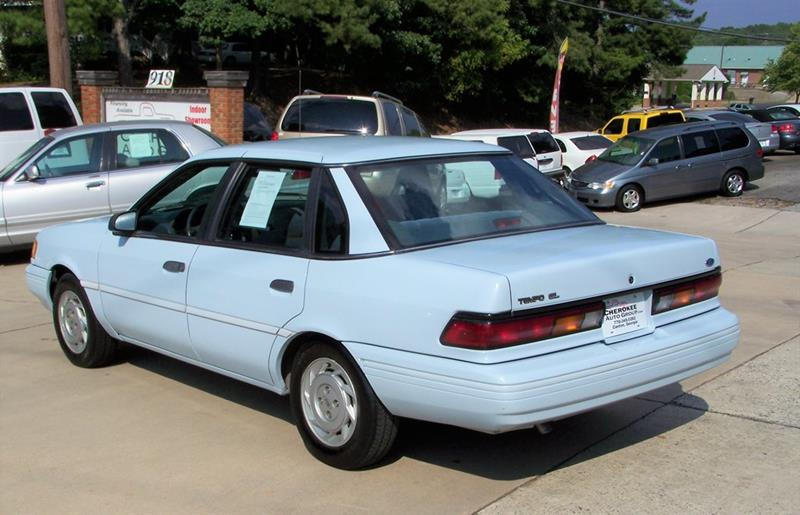1992 Ford Tempo GL (image 4)