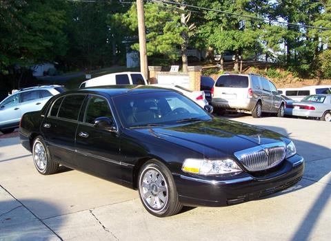 2011 Lincoln Town Car for sale in Canton, GA