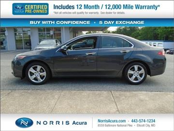 2014 Acura TSX for sale in Ellicott City, MD