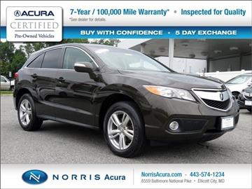 2014 Acura RDX for sale in Ellicott City, MD