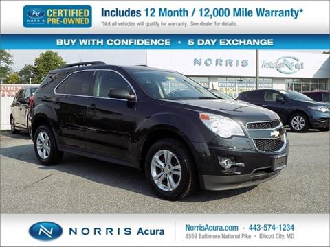 2011 Chevrolet Equinox for sale in Ellicott City, MD