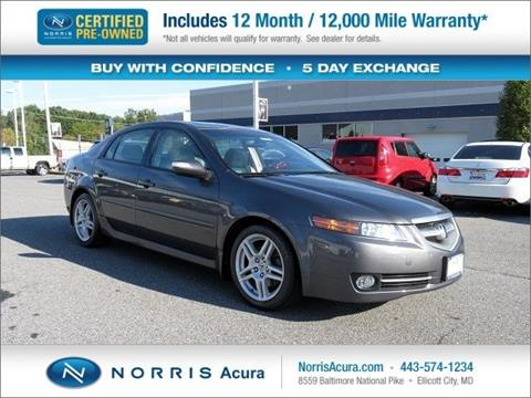 2008 Acura TL for sale in Ellicott City MD
