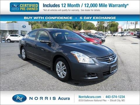 2010 Nissan Altima for sale in Ellicott City MD