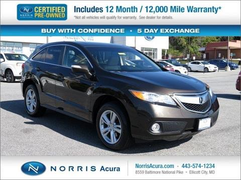 2014 Acura RDX for sale in Ellicott City MD