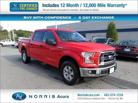 2017 Ford F-150 for sale in Ellicott City, MD