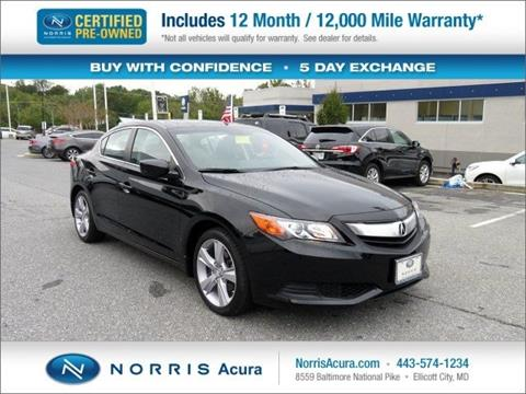 2015 Acura ILX for sale in Ellicott City MD