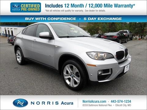 2014 BMW X6 for sale in Ellicott City, MD