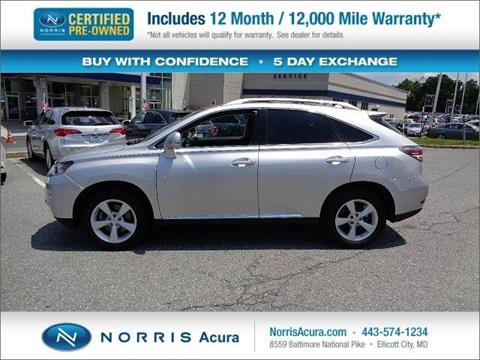 2015 Lexus RX 350 for sale in Ellicott City, MD