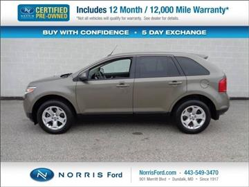 2013 Ford Edge for sale in Ellicott City, MD