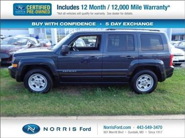 2015 Jeep Patriot for sale in Ellicott City, MD