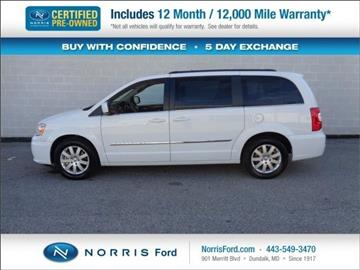 2015 Chrysler Town and Country for sale in Ellicott City, MD