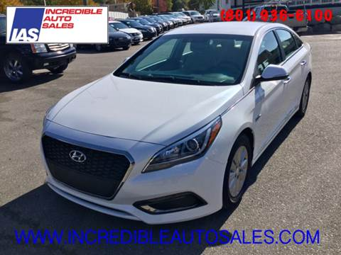 2016 Hyundai Sonata Hybrid for sale in Bountiful, UT