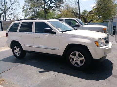 2005 Jeep Grand Cherokee for sale at D. C.  Autos in Huntsville AL