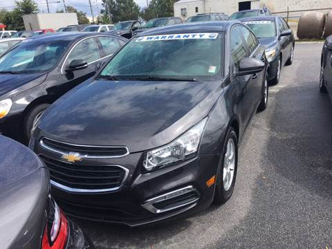 2016 Chevrolet Cruze Limited for sale in Hartsville, SC