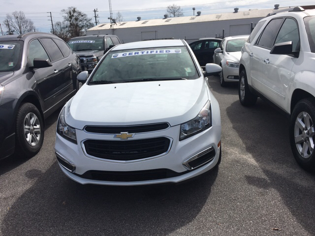2016 Chevrolet Cruze Limited 2LT Auto 4dr Sedan w/1SH - Hartsville SC