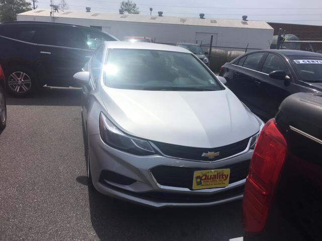 2017 Chevrolet Cruze LT Auto 4dr Sedan w/1SD - Hartsville SC