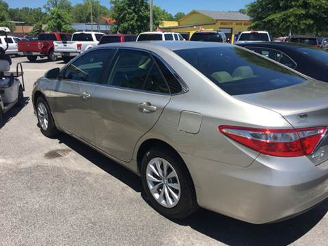 2016 Toyota Camry for sale in Hartsville, SC