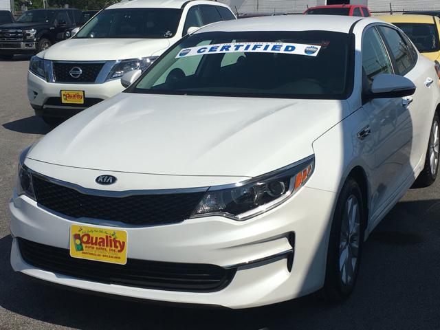2016 Kia Optima LX 4dr Sedan - Hartsville SC