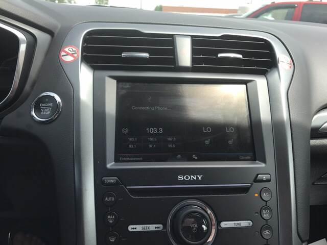 2016 Ford Fusion Titanium 4dr Sedan - Hartsville SC
