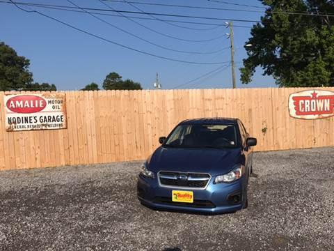 2014 Subaru Impreza for sale in Hartsville, SC