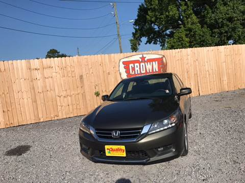 2014 Honda Accord for sale in Hartsville, SC