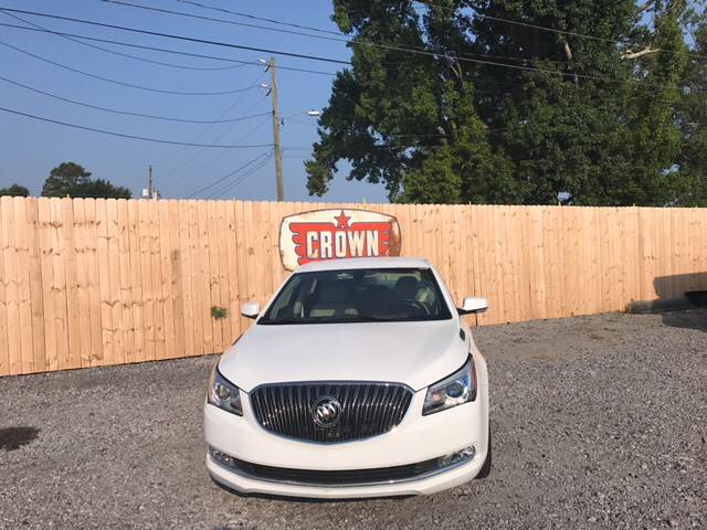 2016 Buick LaCrosse Leather 4dr Sedan - Hartsville SC