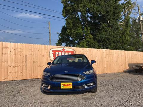 2017 Ford Fusion for sale in Hartsville, SC