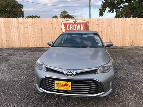2016 Toyota Avalon for sale in Hartsville, SC