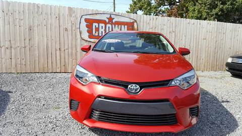 2016 Toyota Corolla for sale in Hartsville, SC