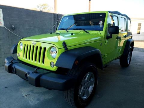 2017 Jeep Wrangler Unlimited for sale in Hartsville, SC