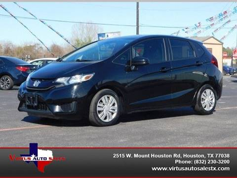 2015 Honda Fit for sale in Houston, TX