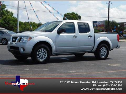 2018 Nissan Frontier for sale in Houston, TX