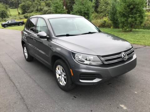 2012 Volkswagen Tiguan for sale at Hawkins Chevrolet in Danville PA