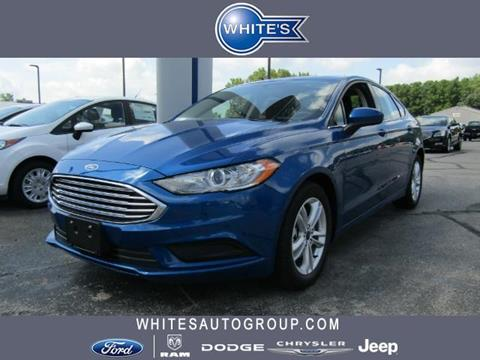 2018 Ford Fusion for sale in Urbana, OH