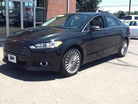 2014 Ford Fusion for sale in Urbana, OH