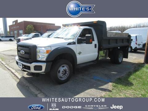 2012 Ford F-550 for sale in Urbana, OH