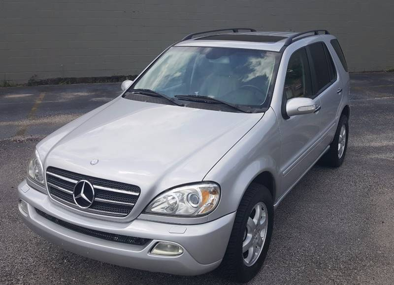 2003 Mercedes-Benz M-Class ML 500 AWD 4MATIC 4dr SUV - Mobile AL