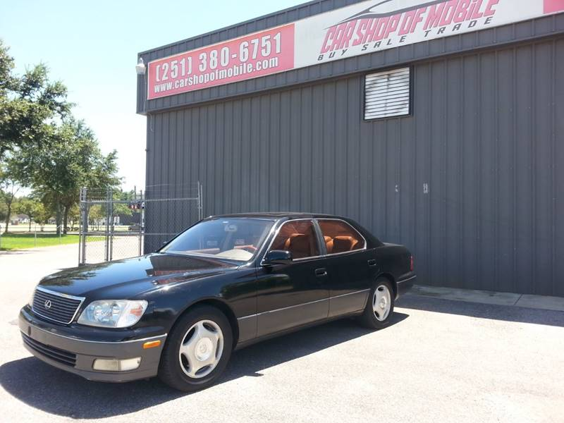 Attractive 1998 Lexus LS 400 4dr Sedan   Mobile AL