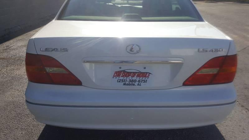 2001 Lexus LS 430 4dr Sedan - Mobile AL
