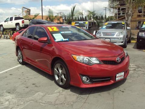 2012 Toyota Camry for sale in Whittier, CA